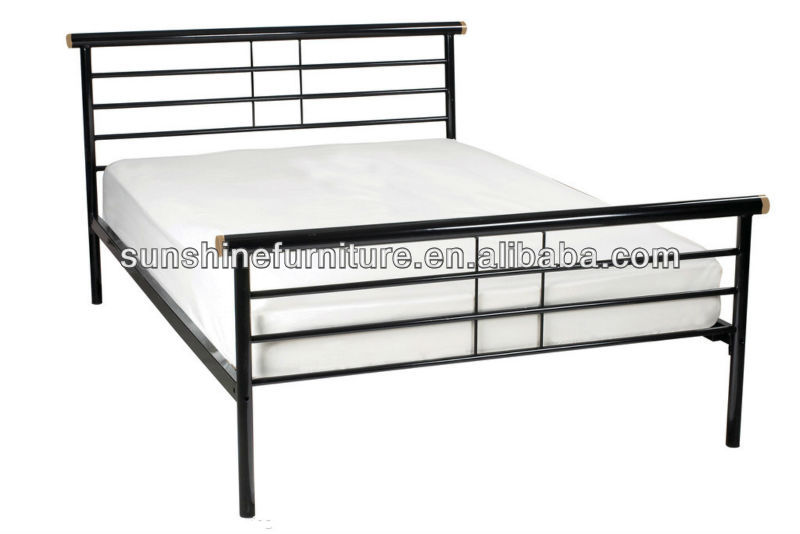 double m tal cadre de lit lit en m tal id de produit 747587861. Black Bedroom Furniture Sets. Home Design Ideas