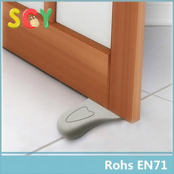 door stopper security. Interesting Door GrayBaby Door Stopper Security2Pcs Lovely Decorative Finger Pinch  Guard For Kids Inside Security S