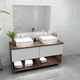 600mm one drawer Chinese modular bathroom vanity modern style include bathroom accessories and European quality hardware