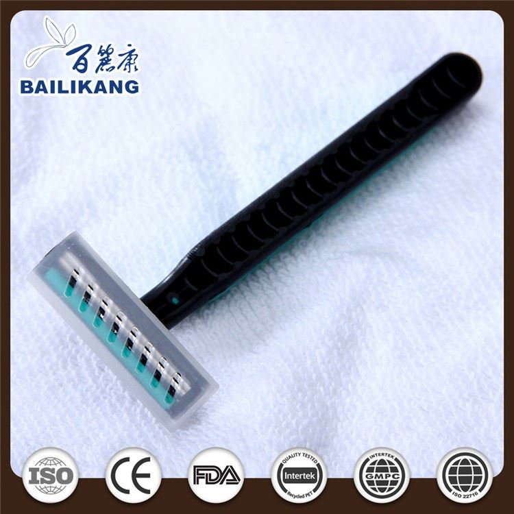 Pivoting Head Hotel Disposable Twin Blade Safety Razor With Imported Stainless Steel Blade