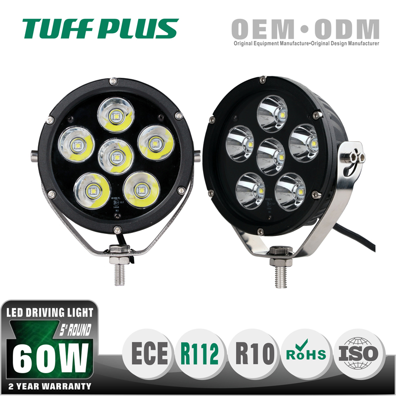 Hot selling Emark led driving light truck led lights 5 inch 60w 30w
