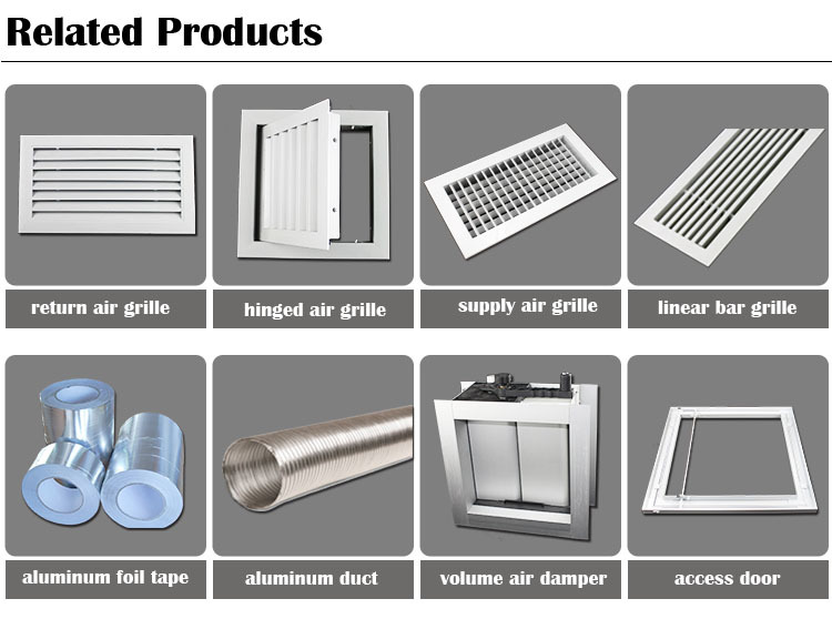 Exhaust Grille Air Conditioning Linear Grilles Diffusers