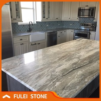 Lowes Fantasy Brown Marble Kitchen