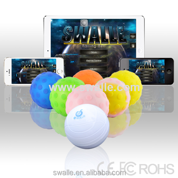 Wireless robotic ball remote control toys iphone and ipad control robotic ball
