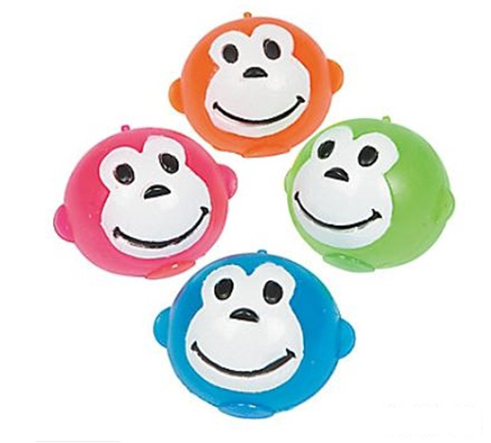 Squishy Splat Ball Monkeys (1 Dozen MONKEY Splat Balls)