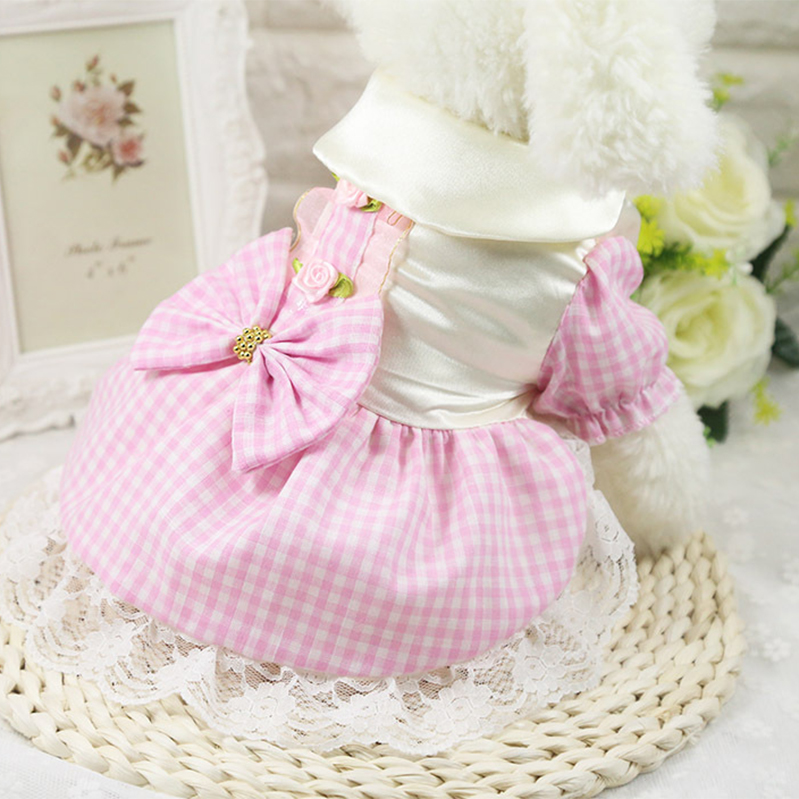 Pet Wedding Clothes Dress For Female Dog And Cats