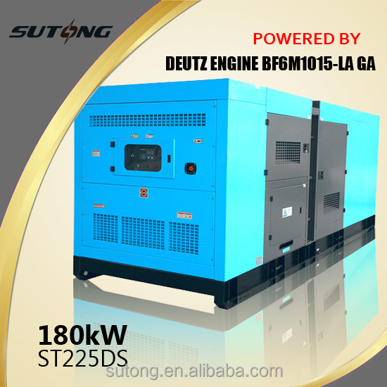 Prices with DEUTZ high performance super silent diesel generator