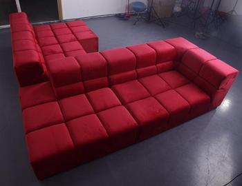 Affordable Price Patricia Urquiola Design Furniture Modern Modular  Sectional Red Velvet B B Italia Tufty Time Sofa - Buy Tufty Time Sofa,B B  Italia ...