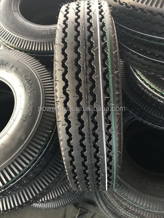 India Tech Mototaxi Tyre 400-8 8PR ROADUP bajaj motorcycle tyre
