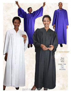 Wholesale High Quality Cheap Customized Choir Robes /Gowns /Uniforms for Church