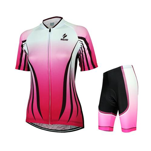 3a5e35ccb Get Quotations · Fashion Style Pink White Cycling Clothing Jerseys for  Women Road Bike Bicycle Team Suits MTB Cycling