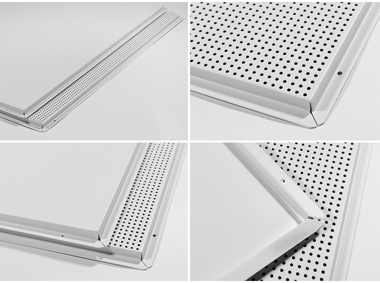Building Material Perforated Aluminum Ceiling Tiles For
