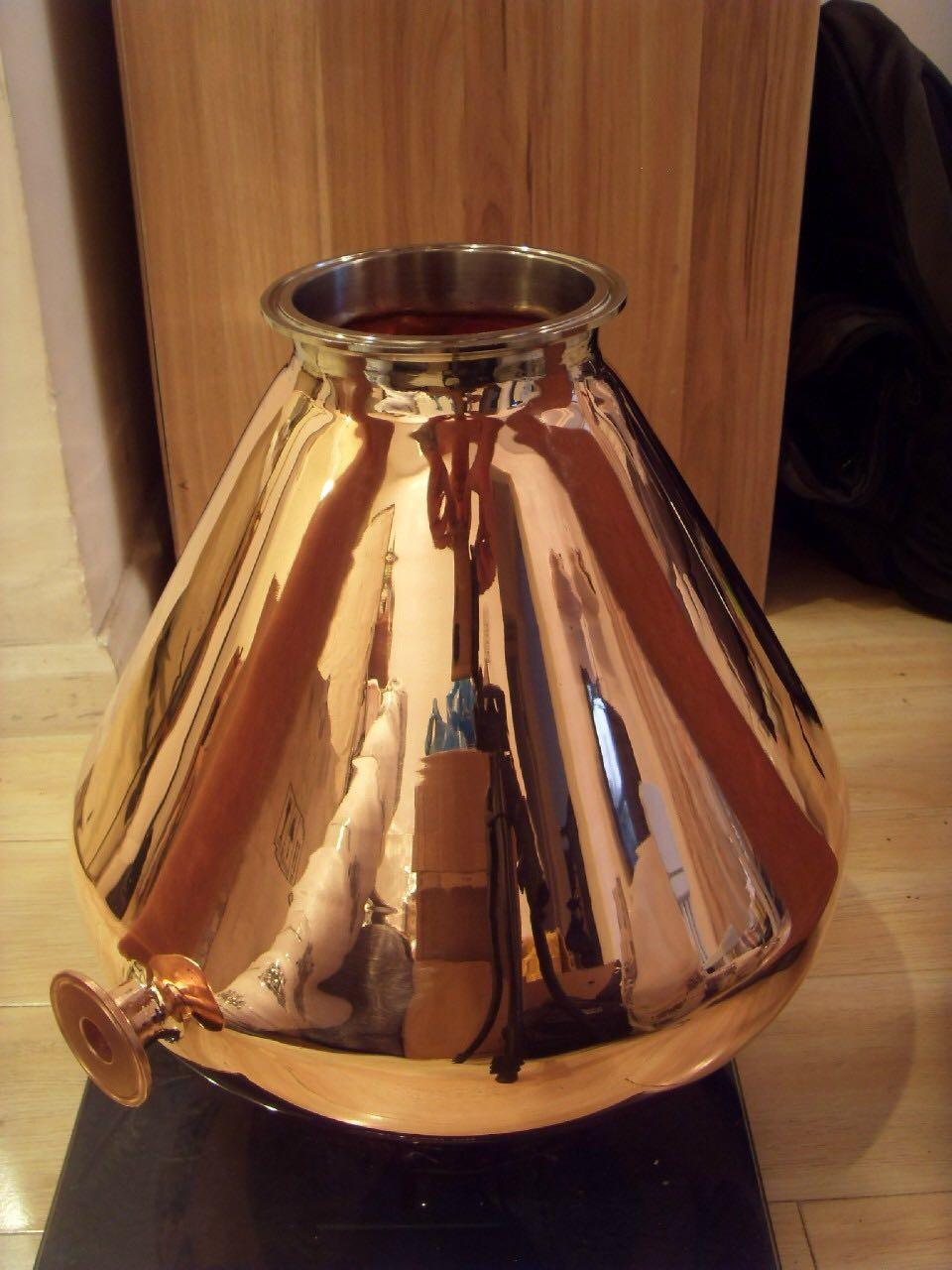 4 8 10 12 Copper Still Helmet Top Of Still