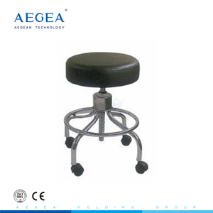 AG-NS001 Super cheap high density sponge mattress padded medical doctor surgeon's chair