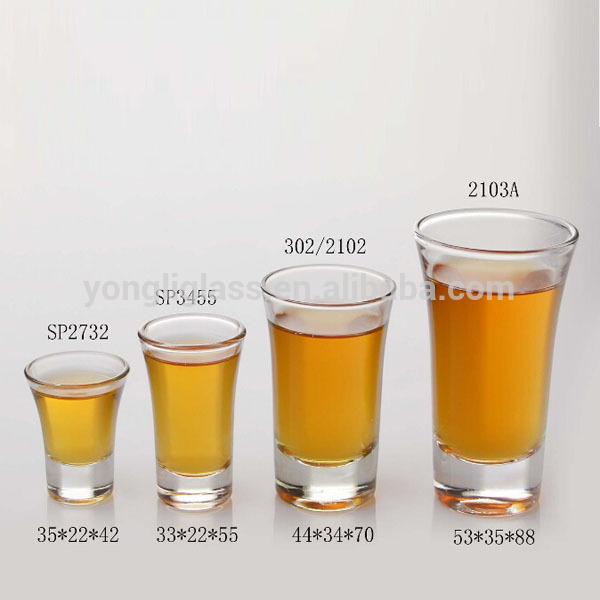 Wholesale High Quality Variety Size Russian Horn Glass