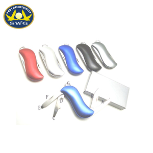 Fashion S Shaped 4 in 1 Multifunction small knife supplier on alibaba