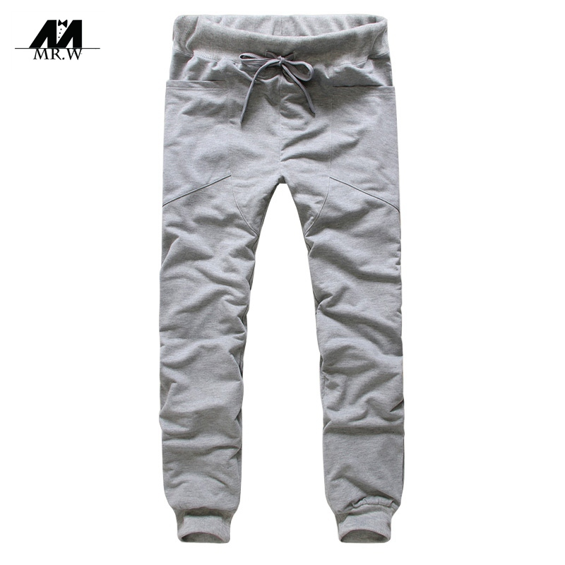 2015 Brand New Fashion Jogging Pants Men Sport Casual Loose Hip Hop Jogger Pants Sweatpants Men's Trousers Soccer Pants M-P-45