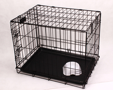 one/two/three doors metal iron wire folding pet dog cage,dog kennel
