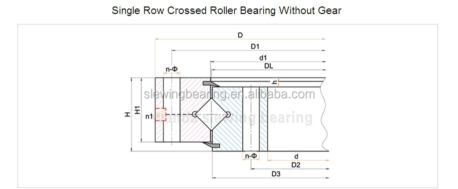 Rotation Gear Slewing Ring For Radar Antenna 073.32.597