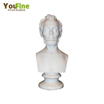 Hand Carved Antique Roman Bust