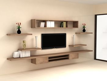 Living Room Furniture Modern Design Aluminium Tv Cabinet