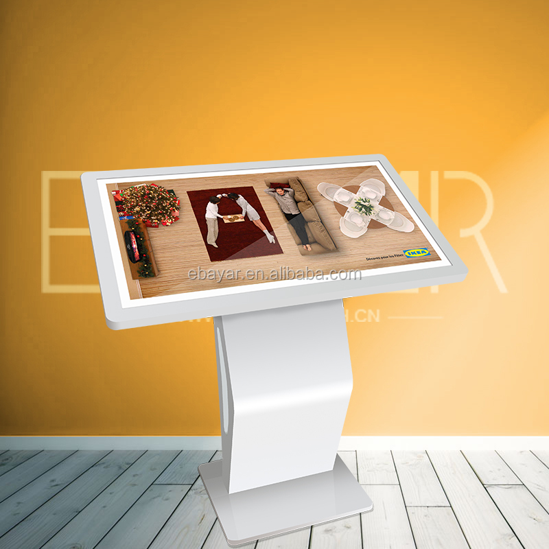 2017 New Advertising Equipment Products Windows Floorstanding Public Touch Screen Kiosk