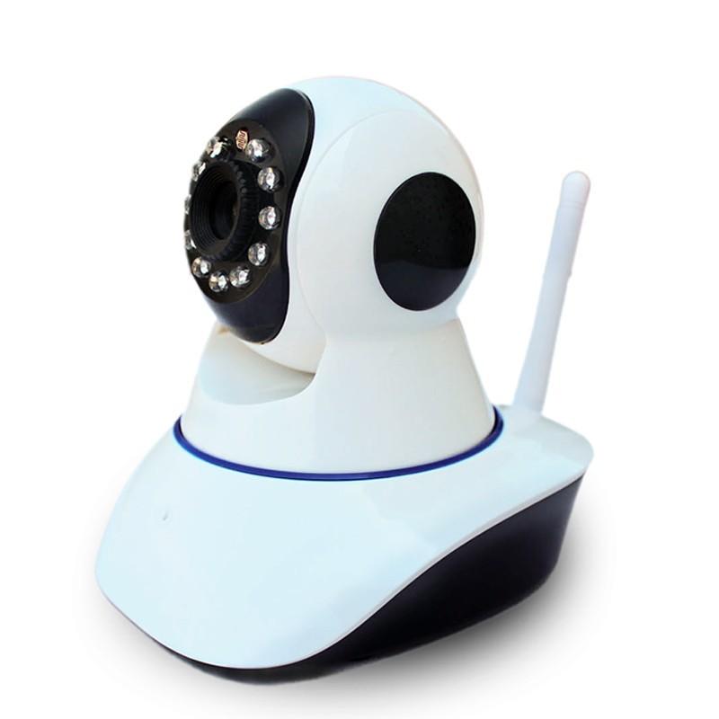 Hw0041 720p Indoor Wireless Wifi Ir-cut Cartoon Robot P2p ...