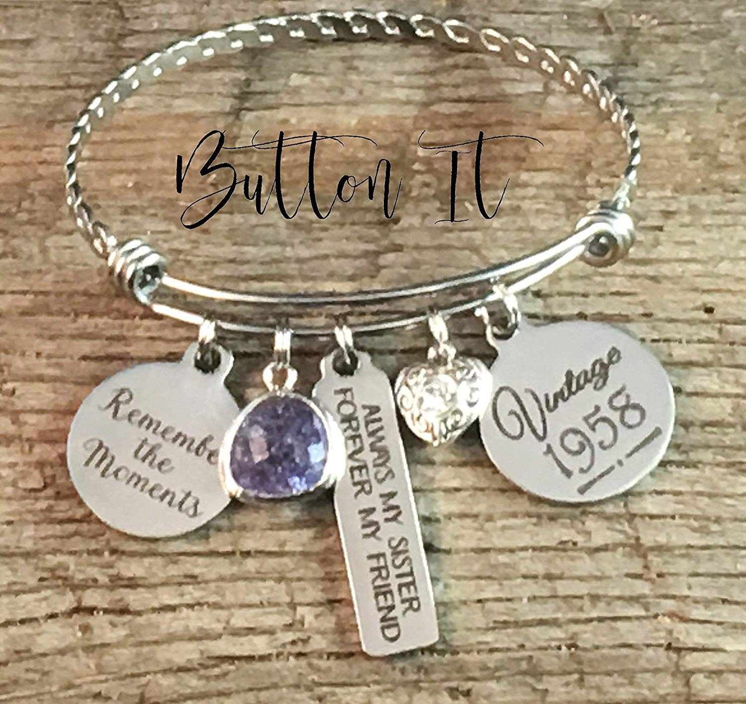 Get Quotations Birthday Gifts For HER Sister Best FRIEND Gift 40th Bracelet