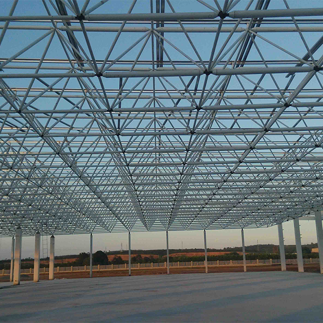Dedicated to offer professional pre engineered steel space frame building