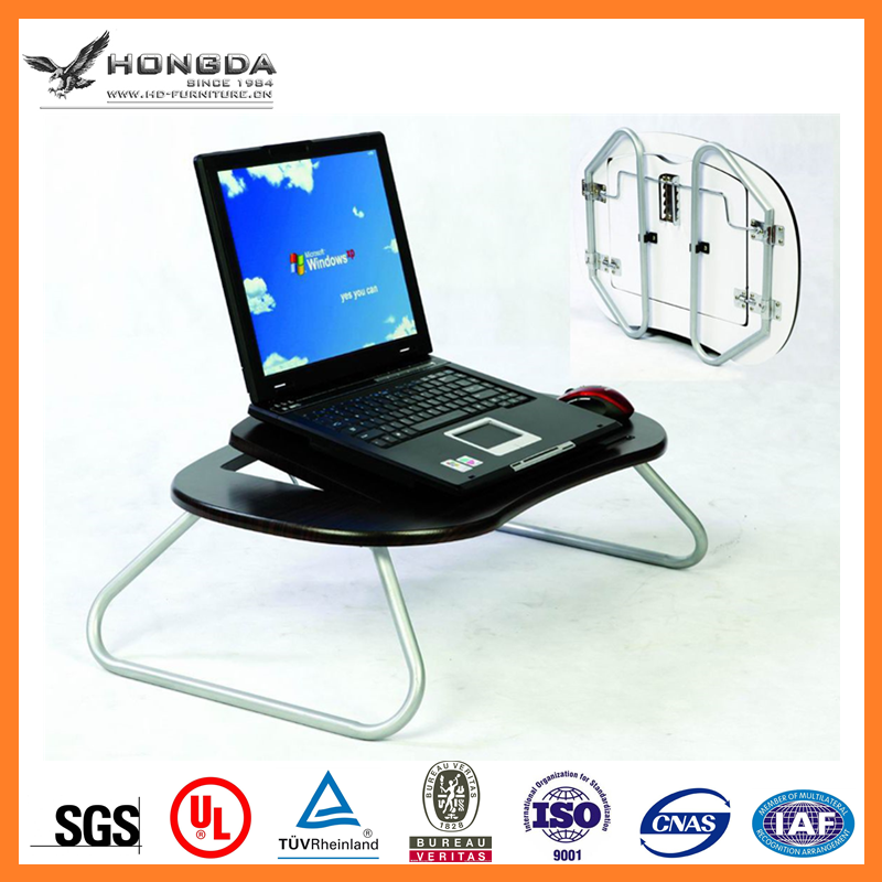 Angle Adjustable Portable Laptop Computer Desk Used on Bed, Laptop Cart