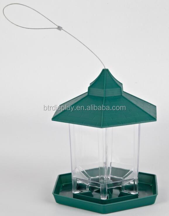 clear acrylic wall mounted bird house