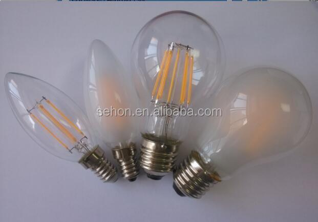 Filament Led Light Bulbs E27 A60/a19 4w 6w Globe Led Bulbs ...
