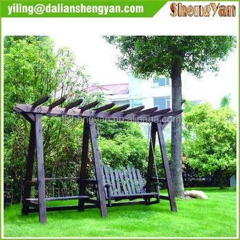 Wooden Chinese Modern Garden Decorative Outdoor Garden Arch ...