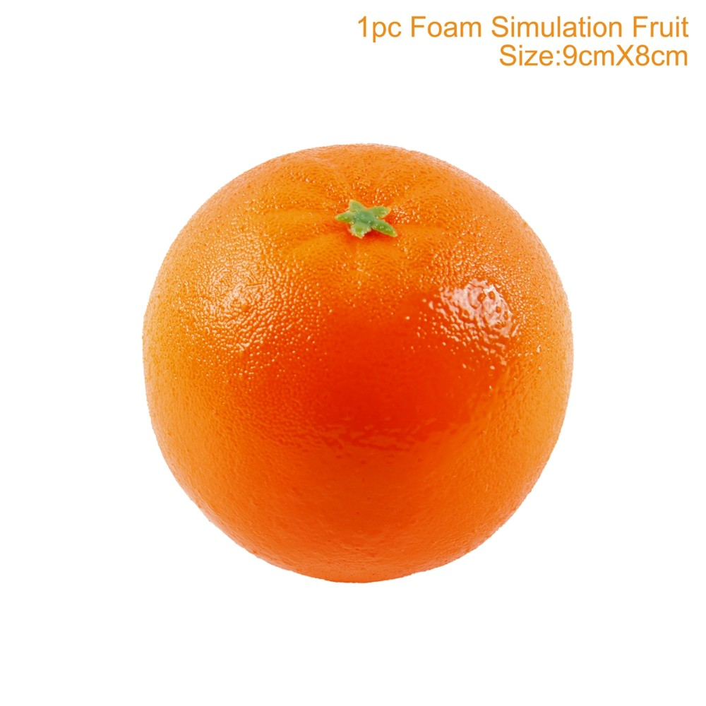 Decorative Foam Fake Fruit Apple Leamon Peach Orange Diy Plastic Artificial Fruit For Home Decor Accessories Photography Props Buy Fruit Artificial Orange Fruit Fresh Orange Product On Alibaba Com