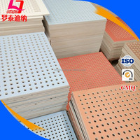 Low Price Sound Absorbing Perforated Gypsum Ceiling Tiles