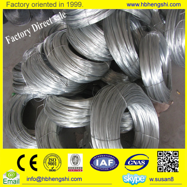 China Professional Good Quality hot dipped steel galvanized wire