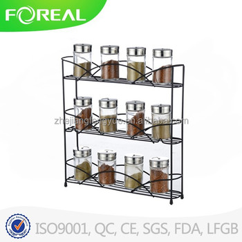 Decobros 3 Tier Wall Mounted Spice Rack Chrome New Buy