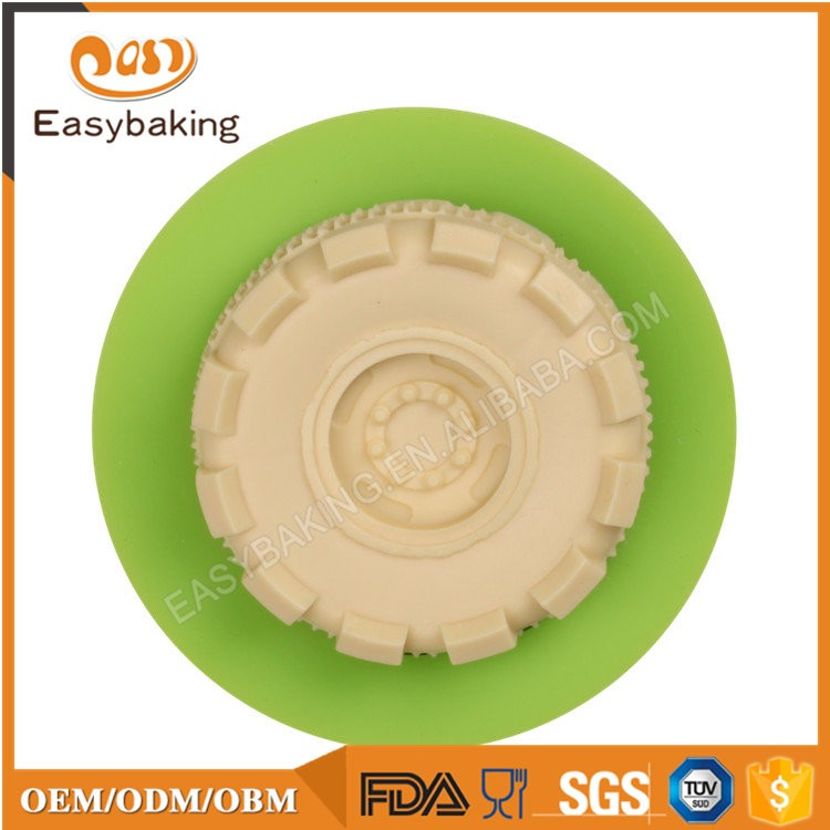 ES-6424 Fondant Mould Silicone Molds for Cake Decorating