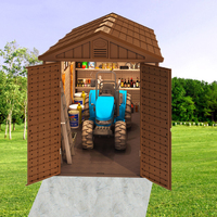 Sturdy and easy-assembled garden Storage shed