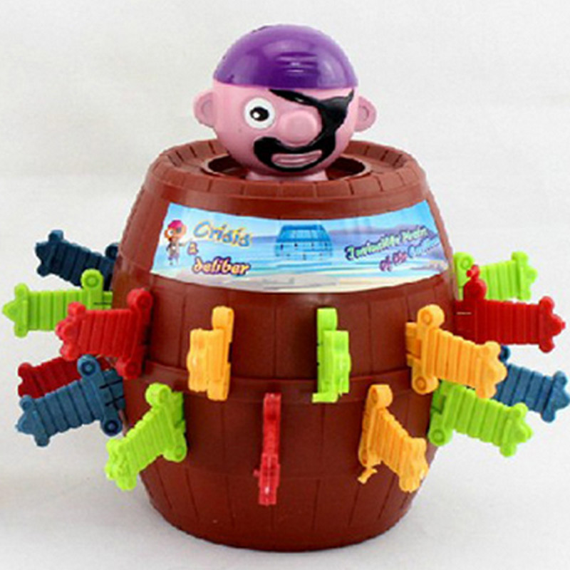 Pirate Barrel Toys Funny Joke Toys For Child Party Game