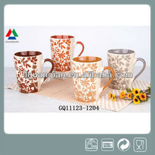 New arrival 500ml ceramic coffee mug gift set