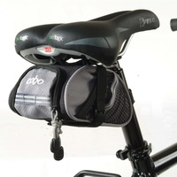 New design 2017 easy installation Large Wedge bicycle Seat Bag