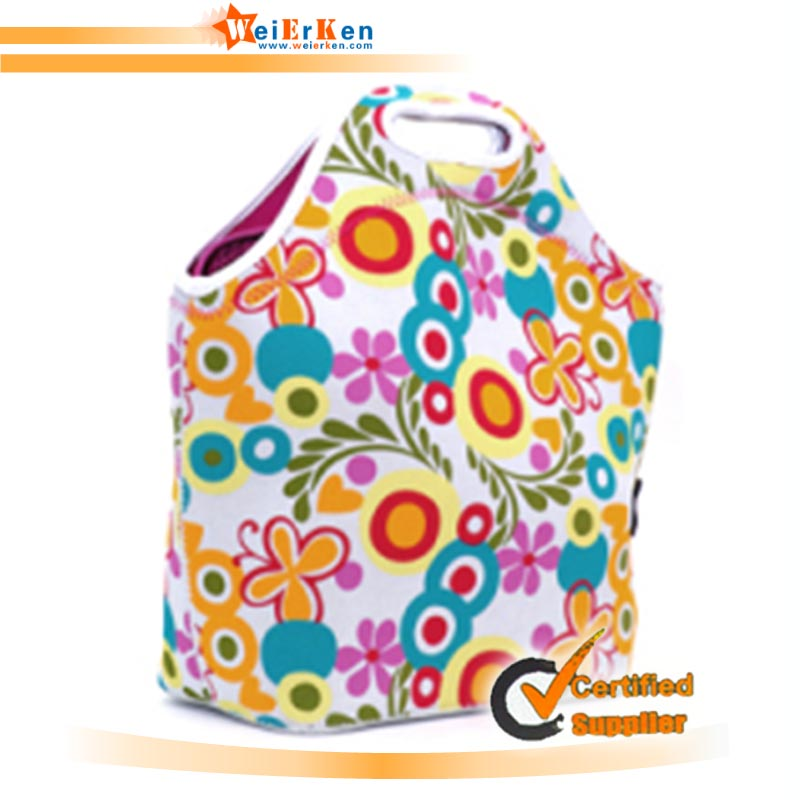 Promotional fitness inner cool lunch bag with your brand logo
