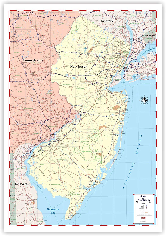 New Jersey Maps on california map, pennsylvania map, kansas map, north carolina map, minnesota map, monmouth county map, ohio map, georgia map, nevada map, oklahoma map, maryland map, northeast map, new hampshire map, indiana map, north dakota map, rhode island map, massachusetts map, mississippi map, missouri map, maine map, nebraska map, michigan map, connecticut map, illinois map, texas map, east coast map, new england map, delaware map, iowa map, florida map, louisiana map, new york map, south carolina map, wisconsin map, usa map,