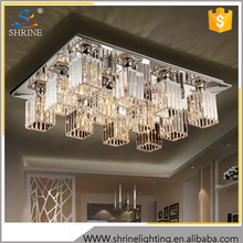Contemporary Crystal Cileing Lighting Clear Light