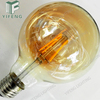 Vintage Straight Filament Edison LED Bulb G95 Amber filament lamp
