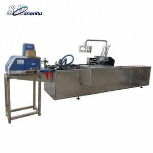 automatic high speed tube product cartoning machine