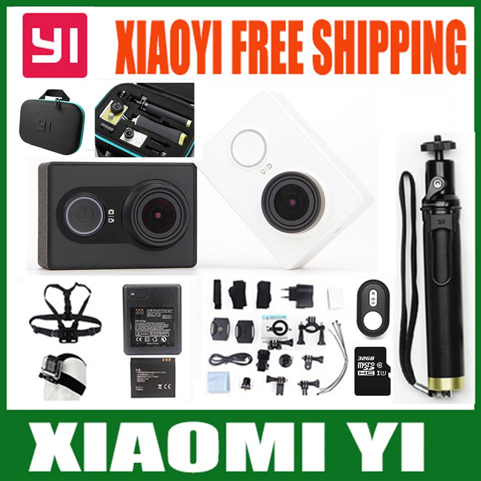 Оригинальный Камера для xiaomi yi Xiaoyi Wi-Fi Mi Спорта Камера 16MP 1080 P Ambarella 60FPS WIFI Bluetooth 4.0 Водонепроницаемый Z23L