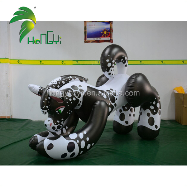 Custom Made Inflatable Wolf Cartoon , Inflatable Wolf Animal Cartoon , Hongyi Inflatable Wolf Cartoon For Sale
