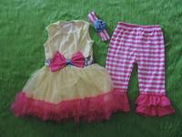 Little Girls Ballet Party Dress Set Infant Toddler Tutu Outfit Dress Set